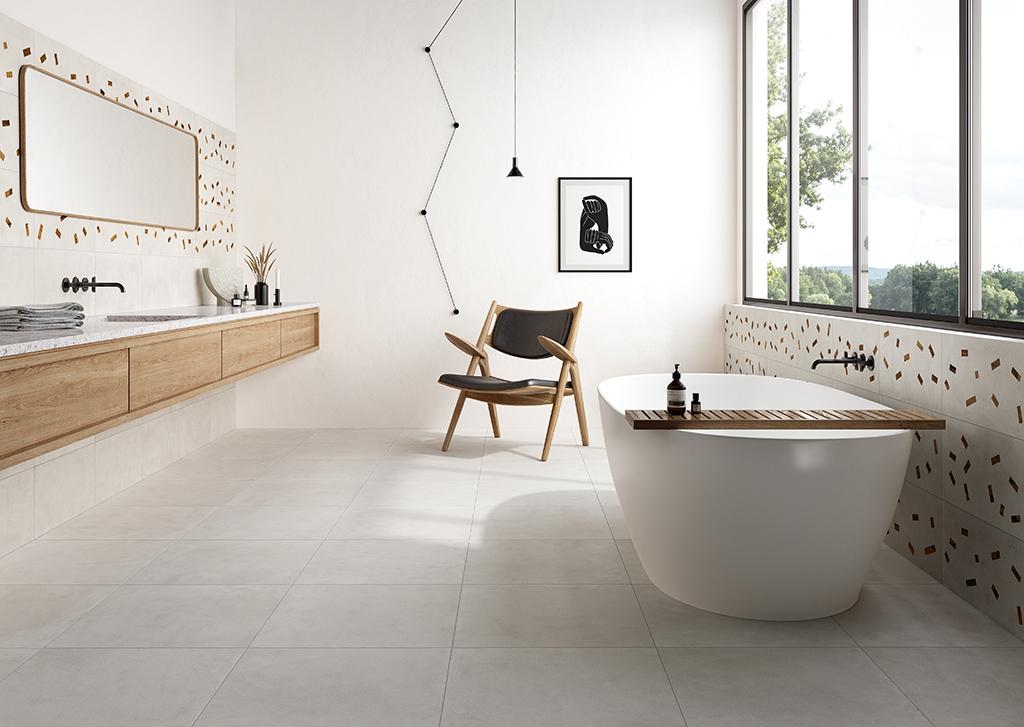 Ceramica-Fioranese_Sfrido_Cemento1-Bianco-60x60-30x60_Deco-Sfrido-Cemento1-Bianco-30x60
