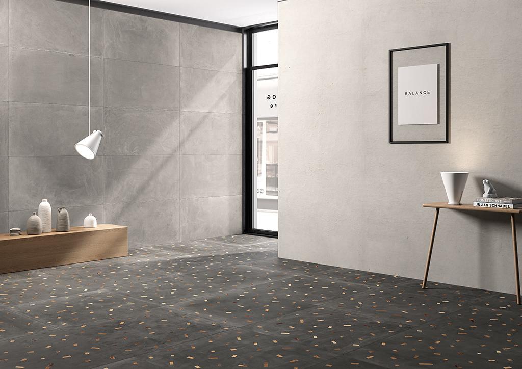Ceramica-Fioranese_Sfrido_Cemento3-Grigio-60x120_Deco-Sfrido-Cemento4-Nero-90x90