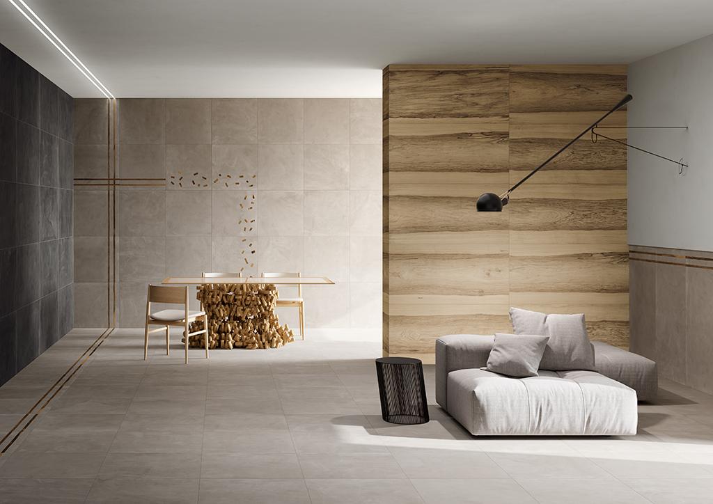 Ceramica-Fioranese_Sfrido_Cemento4-Nero_Cemento2-Greige_Greige-4Lines_Greige-2Lines_Deco-Sfrido-Greige_Fraké-Naturale